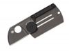 Spyderco Dog Tag Folder Black