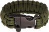 Survival Bracelet OD Green  9