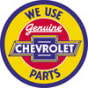 Tin Signs Chevy Genuine Parts