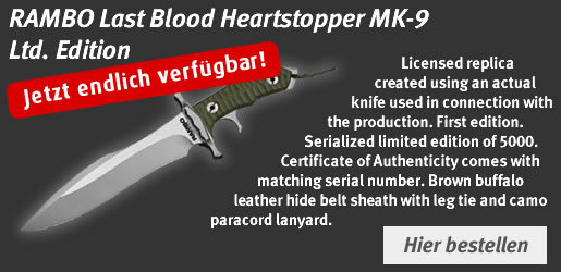 RAMBO Last Blood Heartstopper MK-9 Ltd. Edition